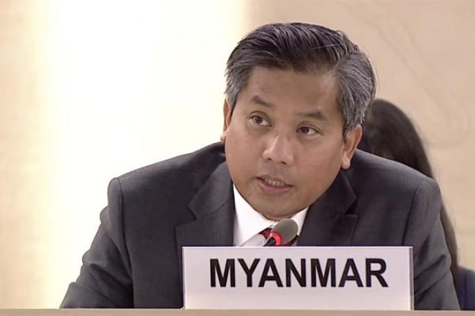 permanent representative of myanmar u kyaw moe htun