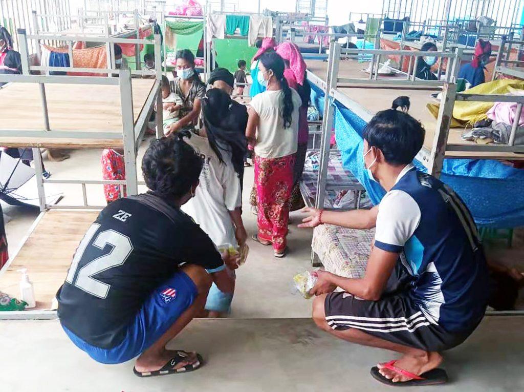 COVID 19 Cluster In IDP Camp In Mongkoe