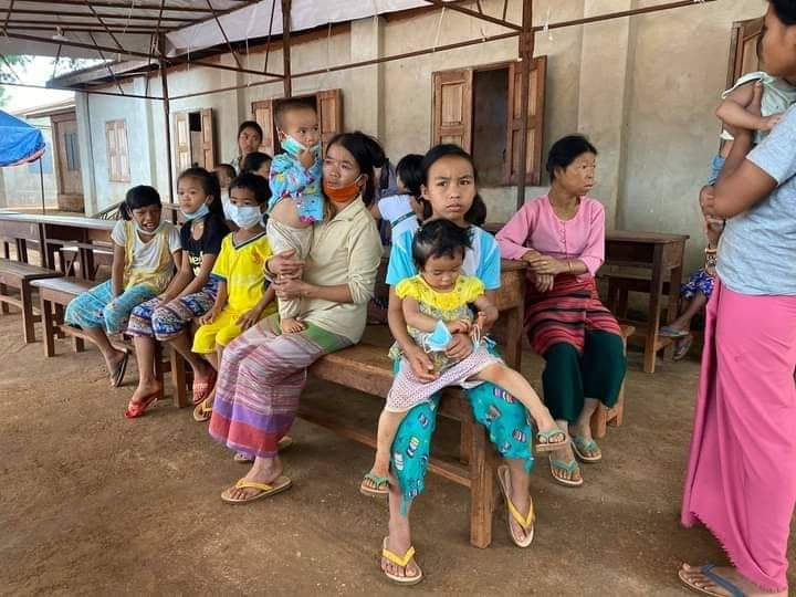 IDPs at Mang Hkar village