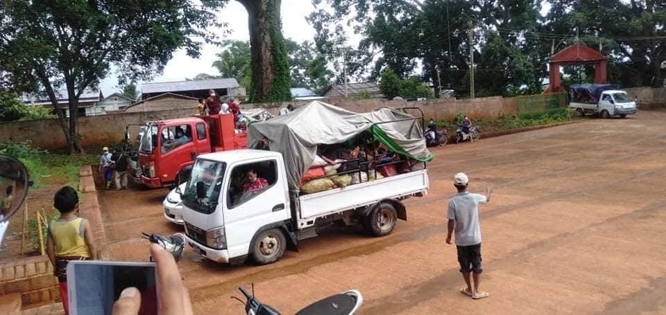 Mong Ngor IDPs camp