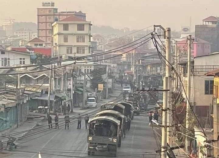Police Car at Taunggyi