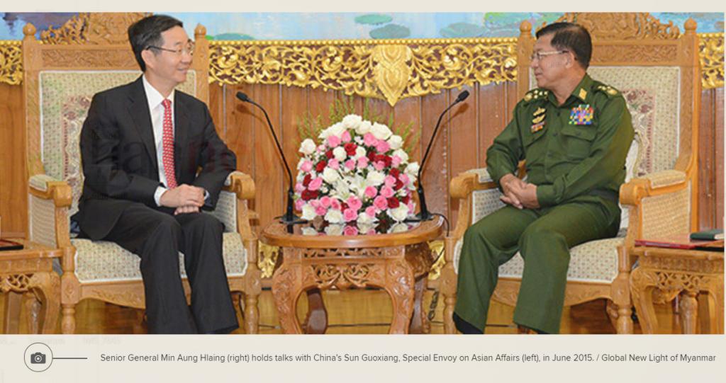 Sun Guoxiang visit Myanmar
