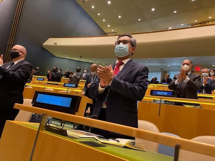 UN Ambassador Kyaw Moe Tun attended the UN meeting 14 September Newyork
